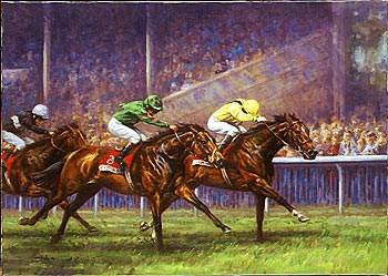 GRAHAM ISOM - Flat Racing prints